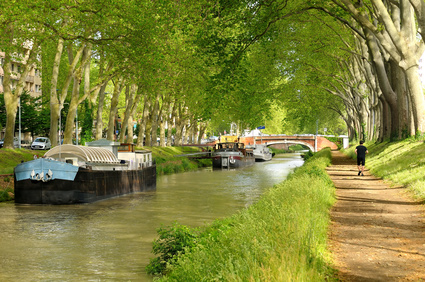 The canal of Midi in French.